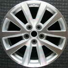 Chevrolet Malibu Machined w Silver Pockets 18 inch OEM Wheel 2013 2016