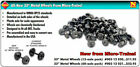 MICRO TRAINS 003 12 021 33 METAL WHEEL SETS 60 AXLES MINT BRAND NEW