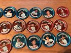 1964 Topps Baseball Coins All Star 21 coins including Mantle some dupes