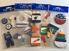 Baby Boy Scrapbook Stickers Lot Paper Bliss Clothing Food Toys Bib Rattle Cards