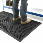 Large Heavy Duty Rubber Ring Entrance Mat Safety Anti Fatigue Non Slip Workplace