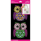 Crafts Stickers Jolees Bling Gems Owls Decorate Anything Bright Colors X 2