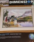 DIMENSIONS GALLERY CREWEL NATIVE SOLITUDE ROGER COOKE NEEDLEPOINT KIT  1522