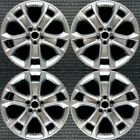 Ford Escape Hyper Silver 18 OEM Wheel Set 2013 to 2016