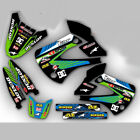 2002 -  2009 KLX 110 GRAPHICS KIT KAWASAKI KLX110  MOTOCROSS DIRT BIKE MX DECALS