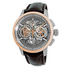 Maurice Lacroix Steel Rose Gold 45mm Masterpiece Skeleton Chrono MP6028-PS101