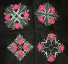 Rose Quilts SPRING EMBROIDERED 10 QUILT BLOCKS Beautiful Set