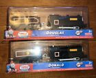 Fisher-Price Thomas and Friends Trackmaster Donald & Douglas Trains New 2011