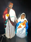 Christmas Nativity Outdoor TPI Blow Mold Jesus Joseph Mary in Original Box
