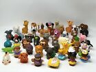 lot of 50 Fisher Price Little People ABC Animals Noah Replacement Farm Nativity