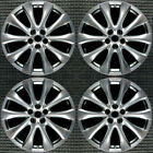 Mazda CX 9 Hyper Silver 20 OEM Wheel Set 2014 to 2015