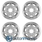 Hummer H2 2002 2007 17 Factory OEM Wheels Rims Set Silver