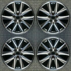Mazda CX 5 Compatible Replica Machined w Charcoal Pockets 19 Wheel Set 2017 to