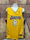 VTG Nike Los Angeles Lakers #8 Kobe Bryant Signed Jersey NWT Men's 2XL