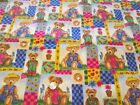 Boyds Bears Collection Flannel Fabric 2 Yards by 44