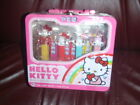 Hello Kitty Pez Collection Set Of Four Brand New W/Lunch Box and Pez Candy
