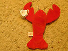 Retired Ty Beanie Babies Pinchers the Lobster 4026 PVC June 19th 1993 RARE