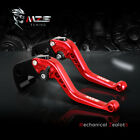 MZS Clutch Brake Levers for Honda CBR 600 F2,F3,F4,F4i 1991-2007 Short Red Set