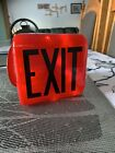 Vintage Ruby Red Exit Glass