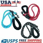 Dog Leash Rope Large Heavy Duty Reflective Nylon 5FT Long with Padded Handle US