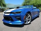 2018 Chevrolet Camaro SS Convertible 2SS Hyper Blue Metallic Convertible Automatic Highly Optioned 2019 2017 SS