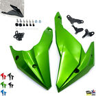 Engine Panel Belly Pan Lower cowling Metallic Green For Kawasaki Z400 2018-2020