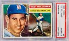 1956 Topps #5 - Ted Williams - Boston Red Sox HOF OF - PSA 8 Near Mint - Mint