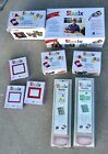 Sizzix Die Cutting Machine Lot Boxed  Bounce Brush Dies Shadow Box More