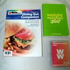Weight Watchers 2004 Dining Out Companion 360 Pocket Guide  Mix Exercise Cards
