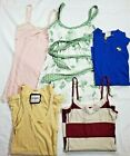 LOT OF 5 Womens 4 ABERCROMBIE  FITCH TankTops 1 T Shirt SIZE LARGE L