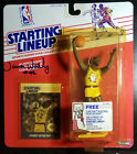 JAMES WORTHY LAKERS Starting Lineup 1988 Rookie NBA Action Figure Autographed!!