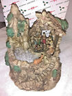 Lighted Musical Water Fountain with Beautiful Nativity Scene 7 X 6 NIB
