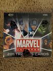 2011 MARVEL UNIVERSE TRADING CARDS BOX INCLUDES SKETCH CARD X-MEN SPIDER-MAN...