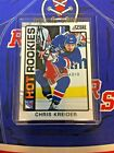 Chris Kreider Rookie Cards Checklist and Guide 14