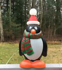 Vintage Christmas General Foam 28 Penguin Chilly Willy Lighted Blow Mold
