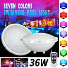 LED Swimming pool lighting Spa Lights Bulb AC DC RGB Colors Changing 36W