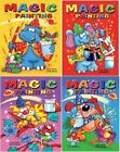 4 x A5 Magic Paint with Water Painting Colouring Book Kids Childrens Activity