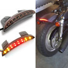 Smoke Motorcycle Running Stop Brake Tail Lights For Harley Sportster XL 1200 883