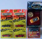 Matchbox Mustang Cobra 77 Premiere Gold Collection Lot of 6  L22