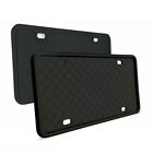 1 Pair USA Car Front+Rear License Plate Frame Silicone Rubber Protector Cover