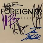 Foreigner Live in '05 SIGNED BY BAND AUTOGRAPHED CD Limited Edition Mick Jones 4