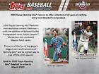 2020 Topps Opening Day Hobby Edition Factory Sealed 36 Pack Box - Fanatics