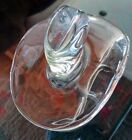 Glass Cowboy Hat Paperweight 4 Long Handblown
