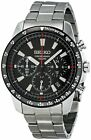 NEW Seiko SSB031 Men's Chronograph Stainless Steel Case Watch SSB031P1