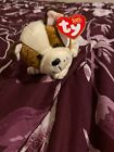 TY Beanie Baby - HUGGINS the Dog (6.5 inch) - MWMTs Stuffed Animal Toy