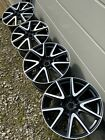 Aston Martin Vantage 19 Diamond Turned V Wheels Satin Black with Satin Lacquer