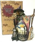 Jim Shore Heartwood Creek Witch With Crystal Ball Figurine What Do I See 4008905
