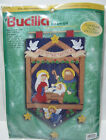 Bucilla 84084 Nativity Banner Creche Felt Applique Kit 23