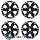 GMC Terrain Machined with Black 2016 2017 18 OEM Wheel Rim Set