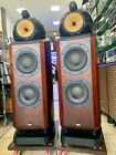 BOWERS & WILKINS B&W 802D NAUTILUS 500Wts Speakers No Diamond Refurbished Hi End